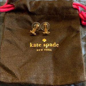 Kate Spade ballet slippers studs